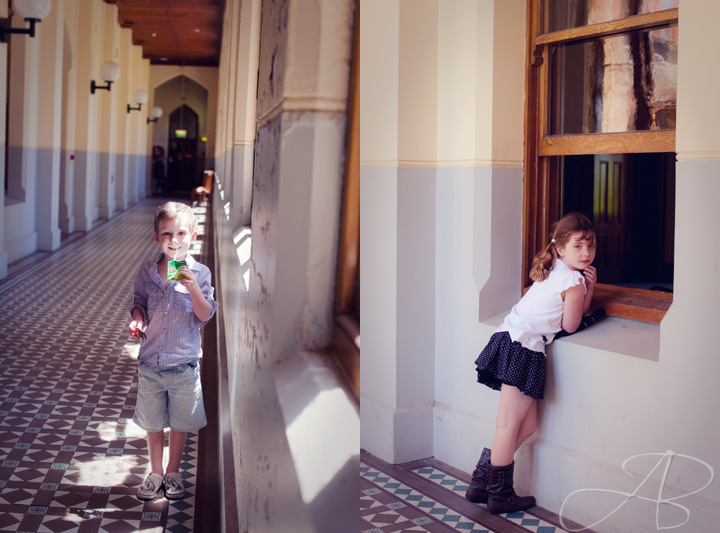 family photographer melbourne Abbotsford Convent