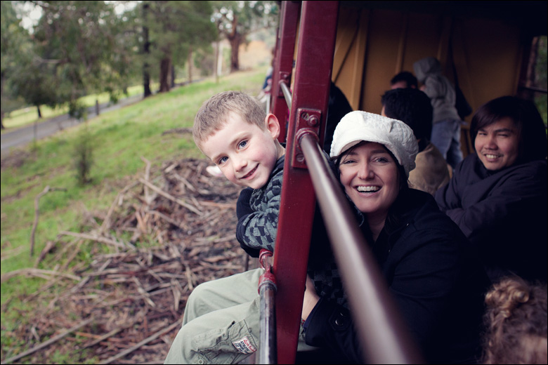 puffing billy014 Child Photography Melbourne