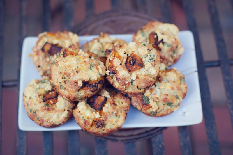 pumpkin muffins angie Roast Pumpkin Muffins