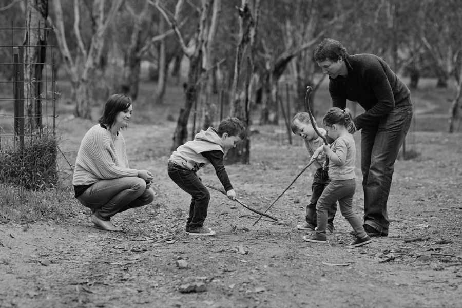 professional photographers melbourne 009 Kristie, Paul and the kids: Family Photography Melbourne