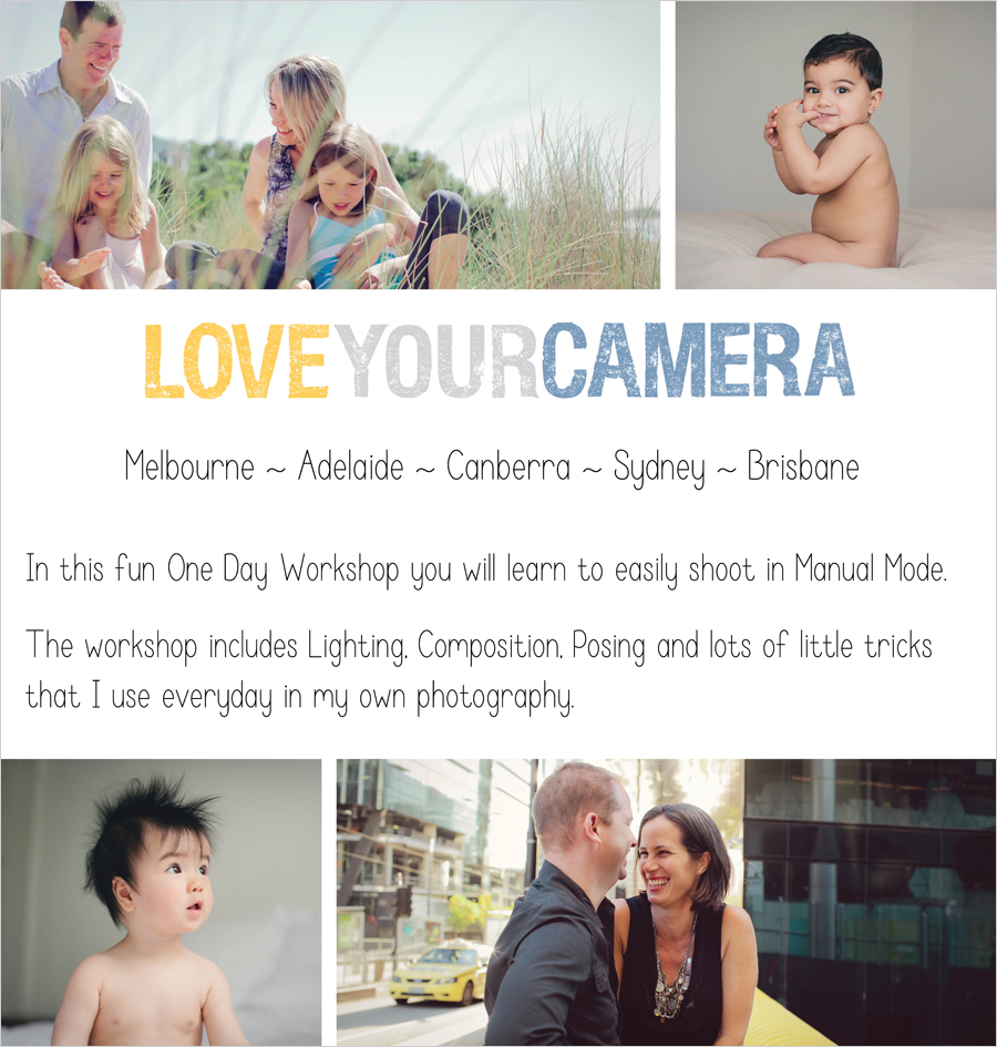 brochure1 Win a Love Your Camera Workshop place AND 3 Annies Camera Bag