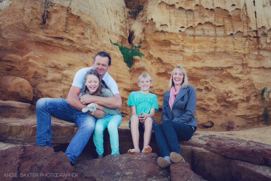 bayside photographers 007 Kerrie, Ian and the kids   Family Photography Bayside