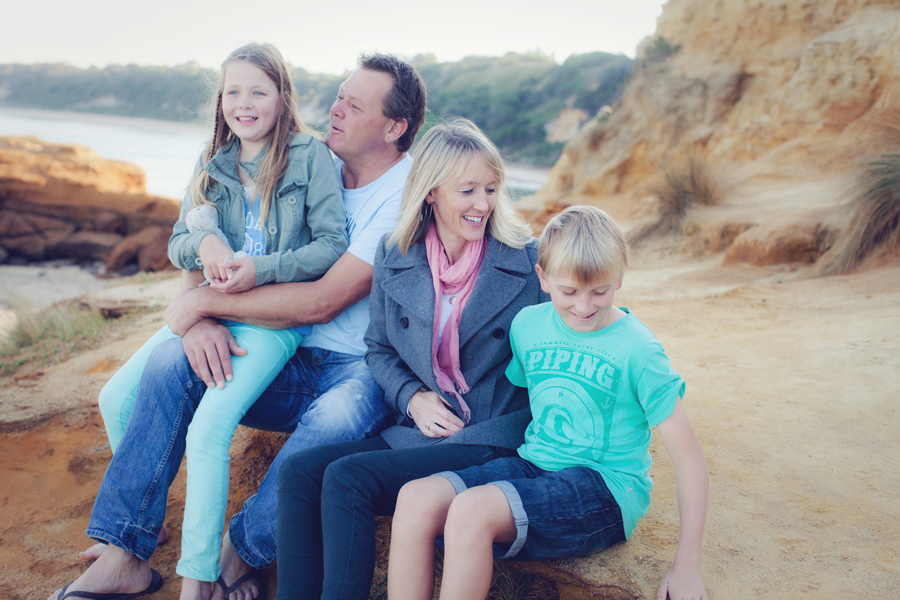bayside photographers 012 Kerrie, Ian and the kids   Family Photography Bayside