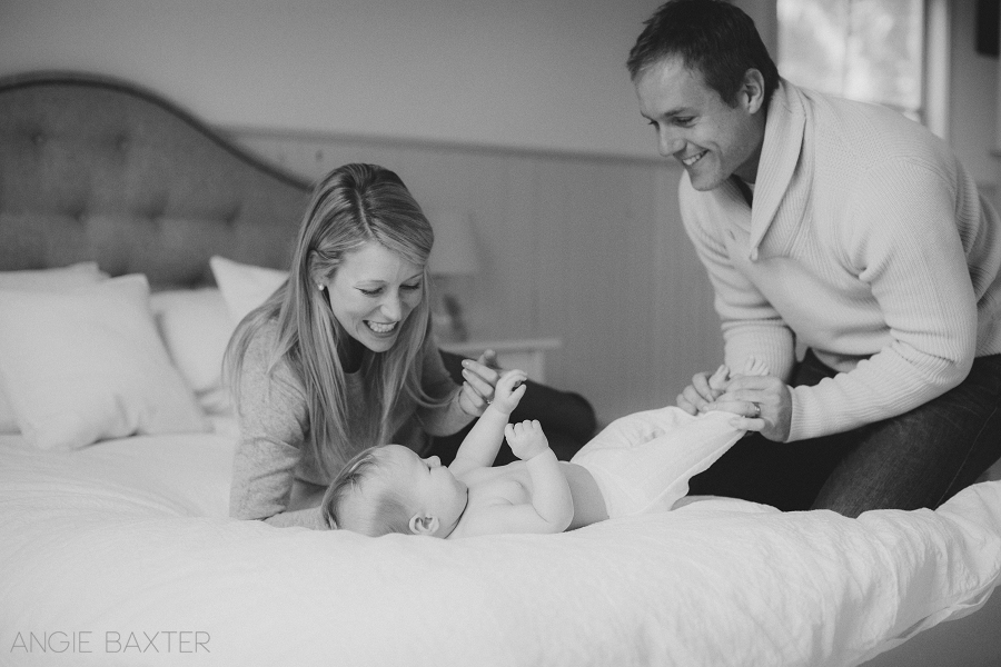 collins 046 mono Ashley, Chris and Charlotte | Melbourne Baby Photography