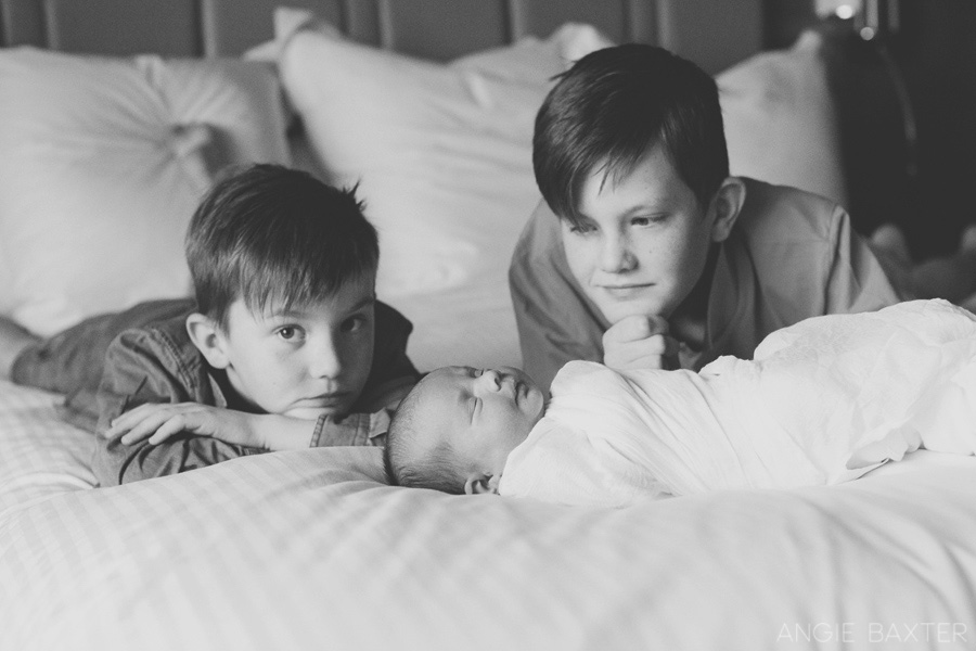 newborn photography melbourne 008 Baby Milla and her brothers